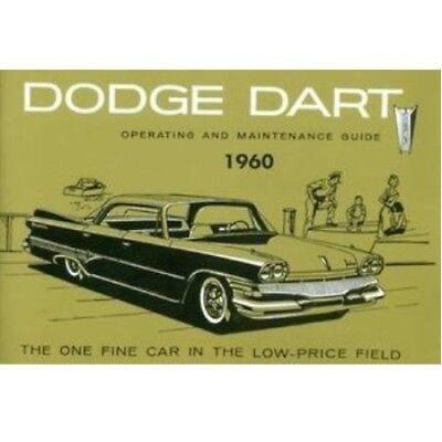 Factory Owner's Manual for 1960 Dodge Dart