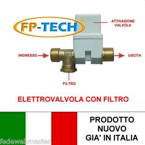 Elettrovalvola acqua 1 2 impianto pannello solare termico for Pvc per acqua calda