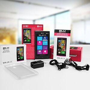 Brand New BLU Win Jr LTE - GSM Unlocked Windows Smartphone - Whi