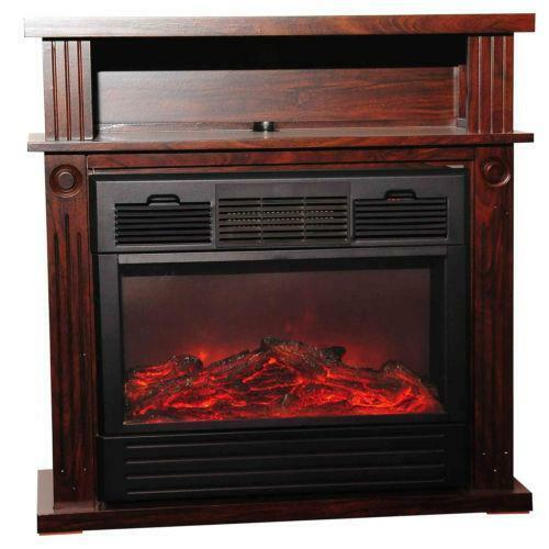 Free Standing Wood Fireplace Ebay
