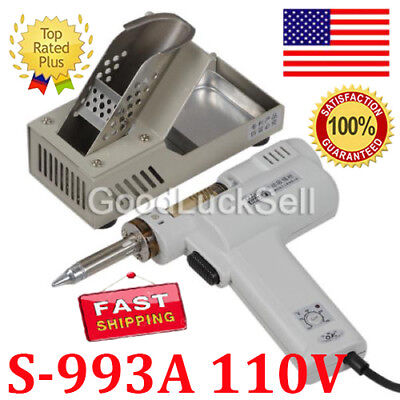 S-993a 110v 90w Electric Vacuum Desoldering Pump Solder Sucker Gun In Us
