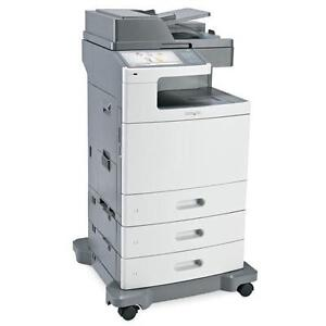 Lexmark XS795de Color Multifunction Copier Print Scan - Copiers Printers on SALE BUY RENT Colour B/W Office Copy Machine