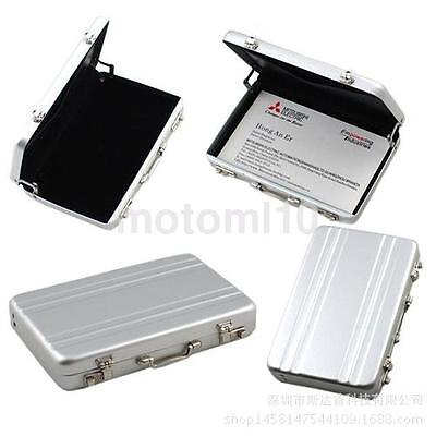 New Aluminum Safe Suitcase Briefcase Business Id Credit Card Holder Case Box Ca
