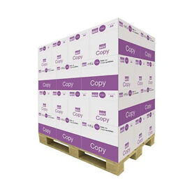 value pallet of 40 boxes A4 80gsm paper perfect