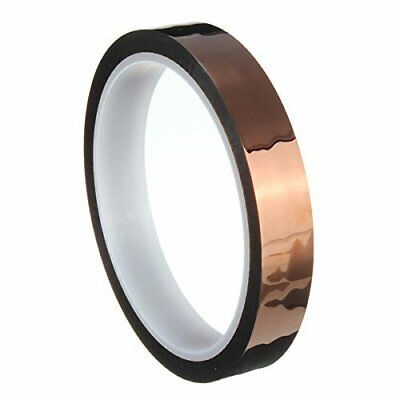 15mm 1.5cm X 33m 100ft Kapton Tape High Temperature Heat Resistant Polyimide