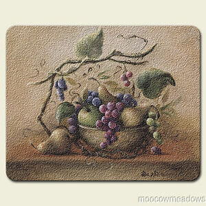 New Grape Cutting Board Kitchen Decor Fruit Glass