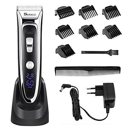 Professional Electric Rechargeable Hair Clippers Trimmer Kit