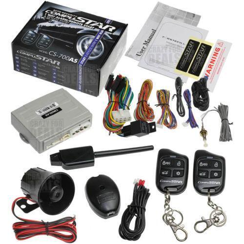 Compustar Remote Start