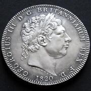 George III Silver Crown