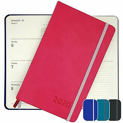 2020 Planner - Yearly Weekly Monthly Daily Planner 2020-2021 With Magenta