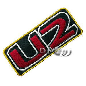 U2-Embroidered-Iron-on-Patch-Badge-Punk-Rock-Metal