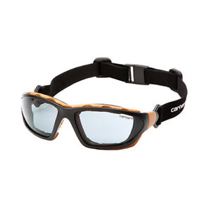 d0554b021f0 Carhartt Carthage Smoke Gray Lens Z87 Safety Glasses Goggles Anti Fog  CHB420DTP