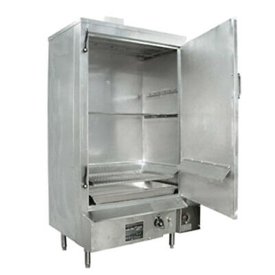 24 Galvanized Masterrange Smokehouse Propane Gas Right