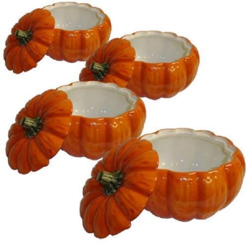 Pumpkin Soup Bowls EBay