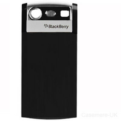 Blackberry Pearl Battery Cover (Blackberry 8110 Pearl Replacement Battery Back Cover Door Case Black)