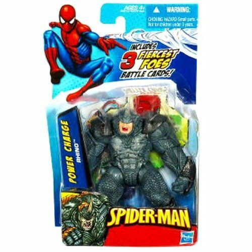 SpiderMan 2010 Series Two 3 3/4 Inch Action Figure Power Cha
