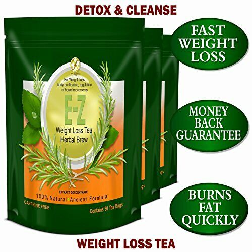 DETOX TEA FOR WEIGHT LOSS AND BELLY FAT - APPETITE CONTROL -