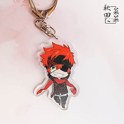 Lavi Cosplay D Gray Man Anime Japan Keychain New Pendant Keyring Bag Decor Hot