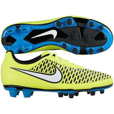 76d2ab4d7a2 NEW Nike 658570-700 Magista Neon Yellow Blue Soccer Cleats Women s U.S. 7