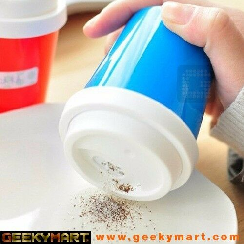 COFFEE CUP DESIGNED SALT OR PEPPER SHAKER