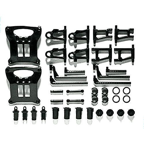 Tamiya 51003 RC Car TT-01 Chassis B Parts Suspension Arm Set For TT01/TT01E