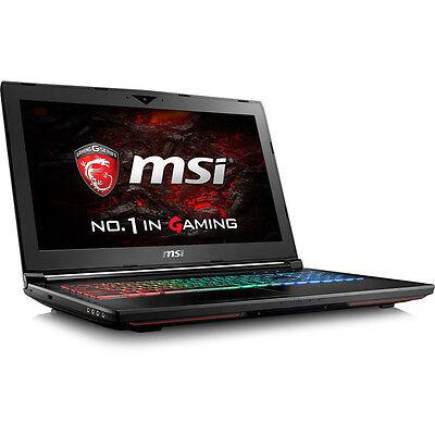 MSI GT62VR DOMINATOR-238 PRO Gaming Laptop 16GB ram 1TB HD 256 SSD GF-GTX1070