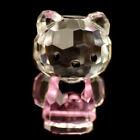 Pink Swarovski Glass Figurines