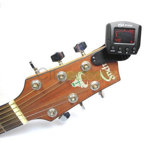 acoustic guitar tuner ebay. Black Bedroom Furniture Sets. Home Design Ideas