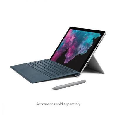 Microsoft Surface Pro 6 12.3  Core i7 8GB RAM 256GB SSD Platinum  -  8th Gen i7-