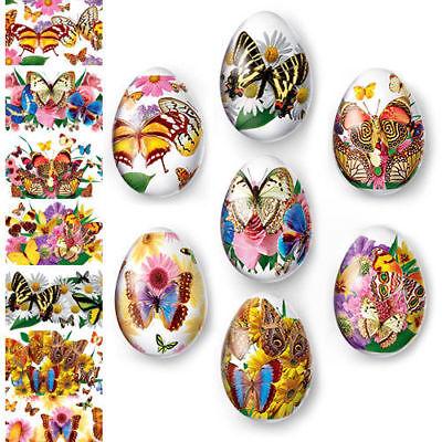 Thermo Heat Shrink Sleeve Easter Egg Wraps Pysanka Pysanky Butterflies & Moths