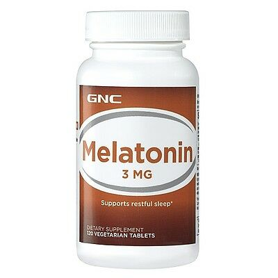 GNC Melatonin 3 mg 120 Vegetarian Tablets