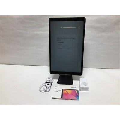 Samsung Galaxy Tab A 10.1 Inch (T510) 32 GB WiFi Tablet Silver (2019), Black