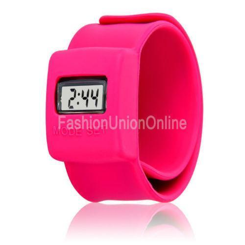 Heouty Kids Color Touch Screen Kids Led Digital Display Bracelet Watch Clock Colorful Silicone Sports Watches Children C1 Children's Watches