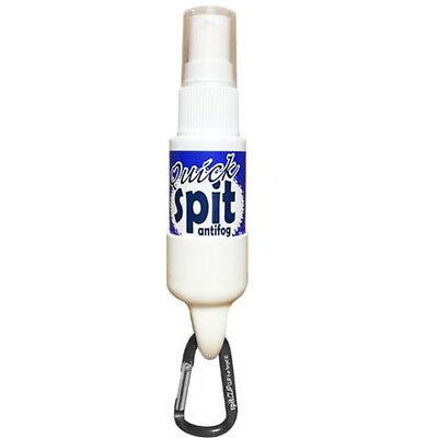 JAWS 1 oz. Quick Spit Antifog Spray with SpitClip Carabiner Retainer - Black