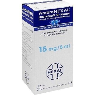 AMBROHEXAL Hustensaft f. Kinder 250 ml PZN: 3692398 (1,26€/100 ml)