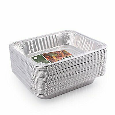 Foil Steam Table Pan (Jetfoil SYNCHKG127525 1843 Aluminum Foil Steam Table, Half Size Deep, 9x13 Pans )