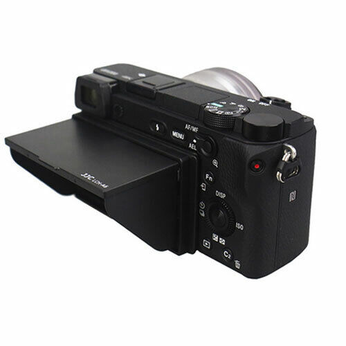 LCH-A6 LCD Hood is compatible with Sony A6300 A6000 A6400 A6500 A6600 cameras