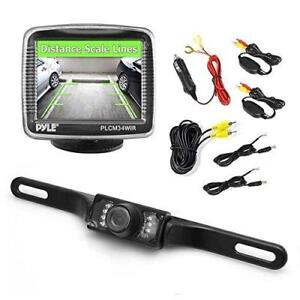 Pyle 3.5-Inch Monitor Wireless Back-Up Rearview and Night Vision Camera System