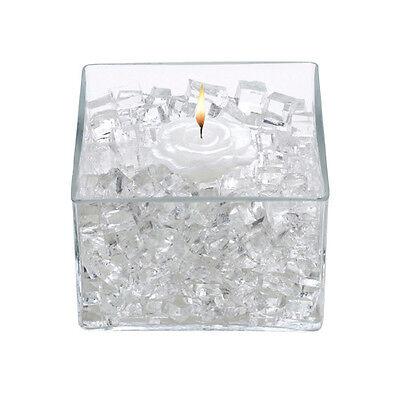 Vase Filler Water Storing Gel Cubes for Flowers Candles