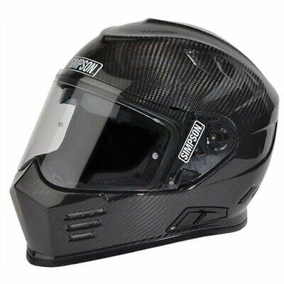 Simpson Helmets GBDLC Ghost Bandit Helmet DOT/ECE Certified Large Carbon Fiber