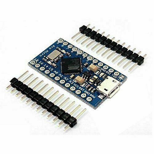 1pcs Pro Micro ATmega32U4 5V 16MHz Replace ATmega328 Arduino Pro New