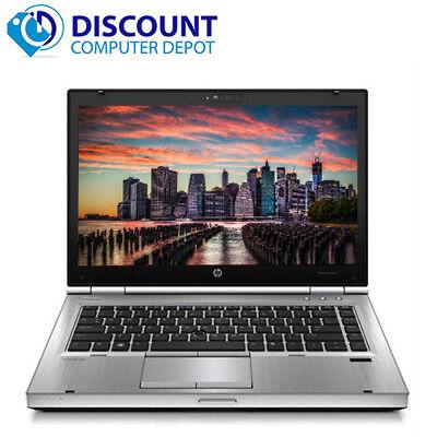 "HP Elitebook 8470p 14"" Laptop Notebook Core i5 2.6GHz 4GB 320GB Windows 10 Home"