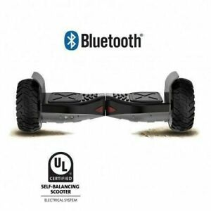 8 Inch Off Road Hoverboard with Front Light, BlueTooth