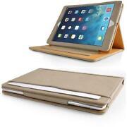 Tan Leather iPad Case