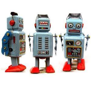 Old Fashioned Robot Toys Uk