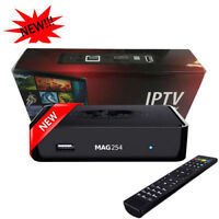 FOR YOUR TV WE SELL IPTV BOX MAG 254 & SERVICES