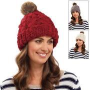 Fur Bobble Hat