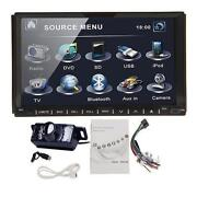 Double DIN Car Stereo Bluetooth