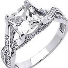Man Made Diamond Ring