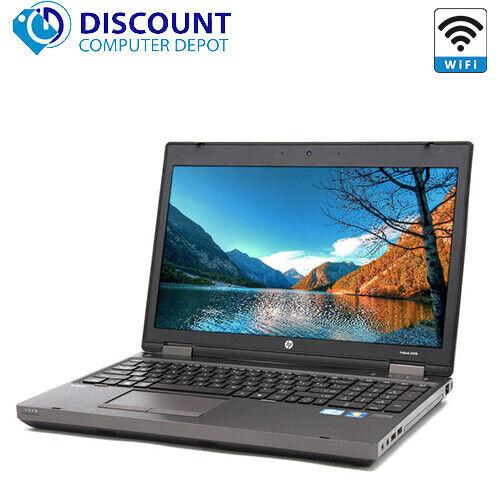 "Laptop Windows - HP ProBook 6560b 15.6""  Laptop PC Intel i3 4GB RAM 250GB Windows 10 DVD WiFi"